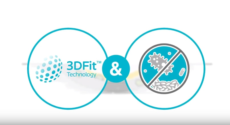 Ontdek Biatain® Silicone Ag met 3DFit-technologie